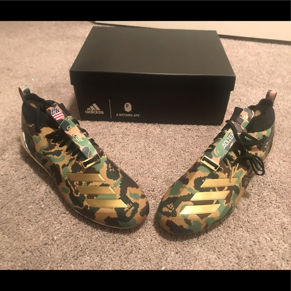 bc9e486d0 Adidas x Bape Cleats - Size 13 - New Never worn!